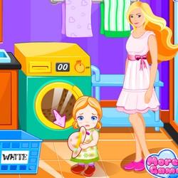 baby barbie games